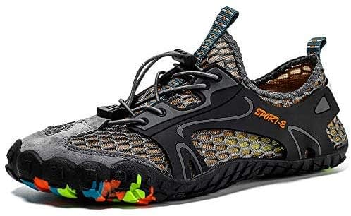 Chaussures aquatiques, Chaussures aquatiques pour femmes et hommes, Chaussures de sport de plein air et salle de gym pour salle de gym intérieure Randonnée Escalade Marche Chaussures aux pieds nus