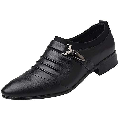 Chaussures élégantes pour hommes, chaussures de sport au design doux, chaussures en cuir, chaussures en cuir Kinlene New British Men Fashion Man