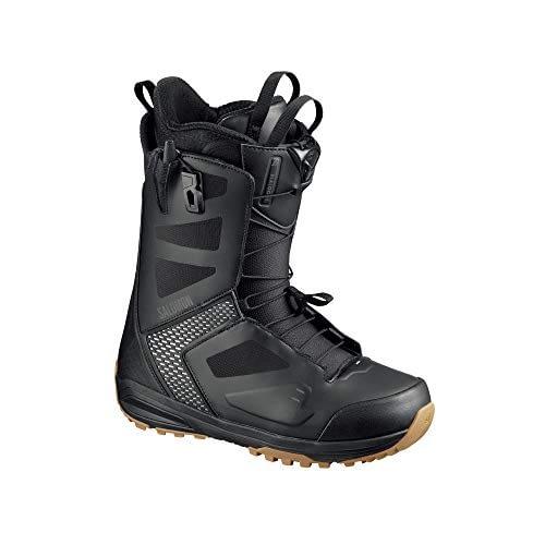 SALOMON - Boots de snowboard Dialogue BK / BK / Grey Viole - Homme - Noir