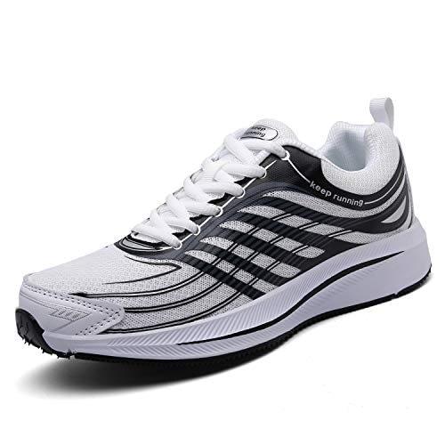 SOLLOMENSI Sneakers pour hommes Chaussures de sport Course à pied Course Athlétisme Multisport Piste extérieure Randonnée Fitness