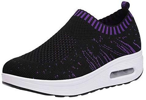 LuckyGirls Mode Nouveau Automne Hiver Femmes Running Athlétisme Sneakers Sport Running Running / Femmes Memory Foam Sneakers Léger Mesh Sneaker