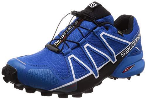 Chaussures de trail running homme Salomon, SPEEDCROSS 4 GTX, Couleur: bleu (Sky Diver / Indigo Bunting / Noir), Taille: EU 40 2/3