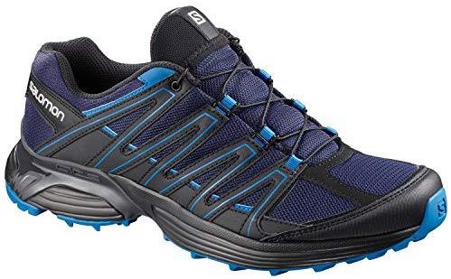 SALOMON - XT Maido Hommes Chaussures de randonnée (Noir / Bleu)