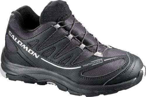 Chaussures trail running Salomon XA Pro 2 WP k noir pour enfant