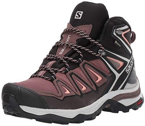 SALOMON X Ultra 3 Mid GTX, chaussures de trekking hautes pour femme
