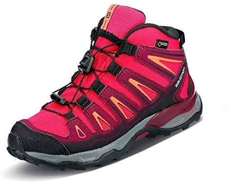 SALOMON X-Ultra Mid GTX J, chaussures de trekking basses mixtes junior