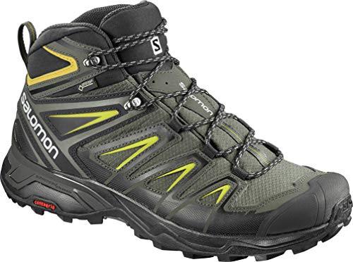 SALOMON X Ultra 3 Wide Mid GTX, Chaussures de randonnée hautes pour homme