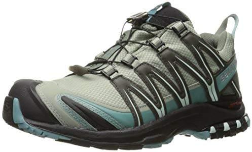 SALOMON - Chaussures de trail femme XA Pro 3D CS WP, gris (Shadow / Black / Arctic.), 37,5 EU
