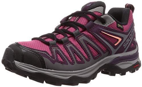 SALOMON X Ultra 3 Prime GTX W, chaussures de trekking basses pour femme