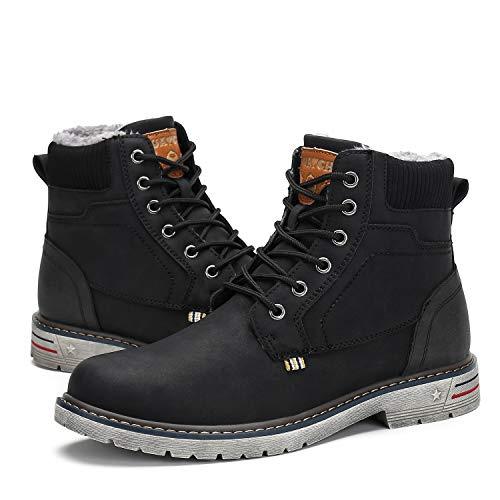 Les bottes pour hommes de Mishansha gardent les bottes de randonnée imperméables et chaudes.