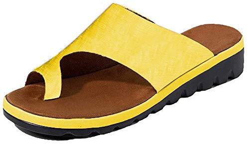 DoGeek chaussures été 2019 nouvelles femmes sandales chaussures de plage de voyage plates confortables sandales semi-remorque