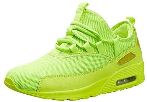 FancyZ Chaussures de course pour hommes et femmes Chaussures de course Mode Sneakers respirantes légères Sneakers avec coin Sports d'été Sneakers de marche Printemps-Été 2019