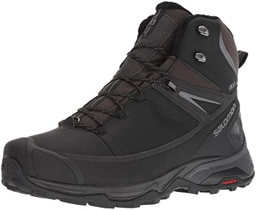Abat-jour Salomon X Ultra Mid Winter CS WP Black Phantom Quiet