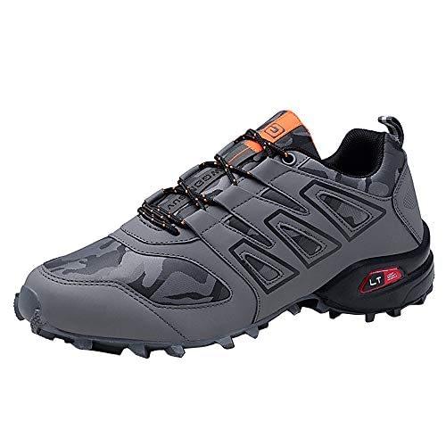 Les chaussures de randonnée imperméables pour hommes résistantes à l'usure respirent shoes chaussures de randonnée, baskets de gymnastique