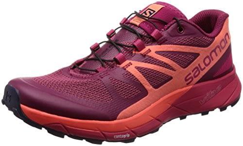 SALOMON Sense Ride W, chaussures de trekking basses pour femme