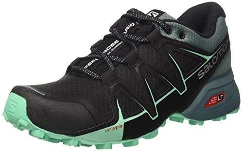 Salomon Speedcross Vario 2 chaussures de course et de trail pour femme, synthétique / textile, noir, pointure