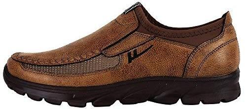 Chaussures simples respirantes pour hommes, chaussures de sport avec plate-forme antidérapante Kinlene