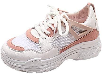 Sneakers à fond épais, LuckyGirls Fashion New automne hiver Femmes Wedges Sneakers Shake chaussures Chaussures à fond épais Fashion Girls Chaussures de sport 35-40