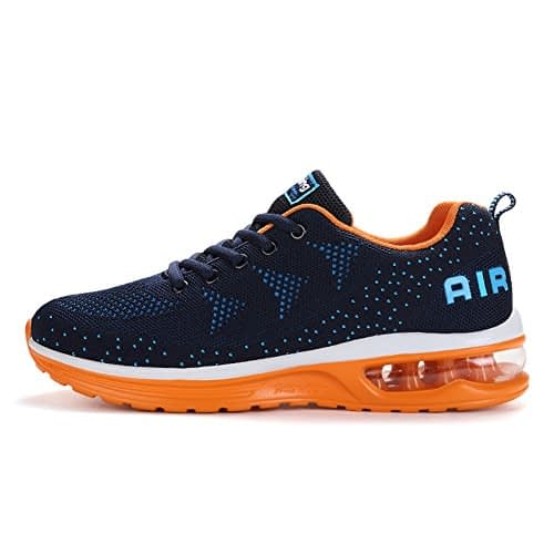 Axcone Hommes Femmes Air Sneakers Chaussures de course Outdoor Gym Fitness Sport Sneakers Style Running Multicolor Respirant - 36EU-46EU