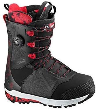 SALOMON - Boots de snowboard Lo FI BK / Tango Red / Beluga - Homme - Noir