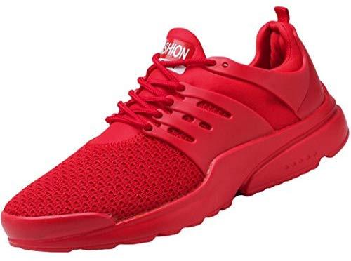 Baskets classiques à surdosage en maille, chaussures de sport pour hommes avec lacets, chaussures de sport de mode d'été