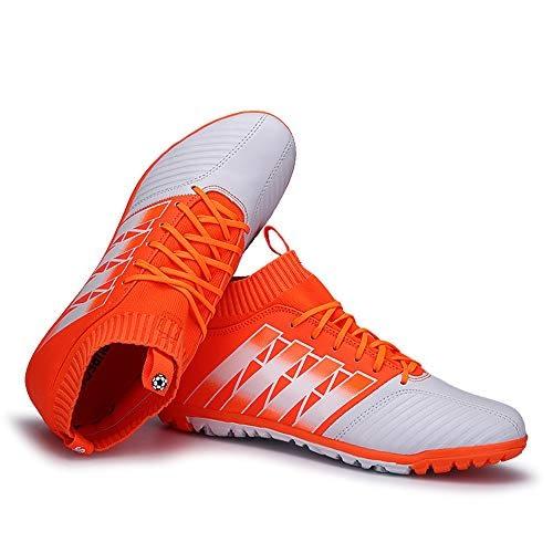Chaussures de football Skwu à bout pointu pour adultes, Chaussures d'entraînement pour hommes et femmes