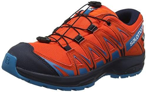 SALOMON XA Pro 3D CSWP K Trail, Chaussures unisexe pour enfant