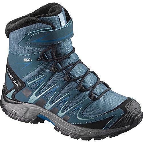 SALOMON XA Pro 3D Winter TS CSWP K, chaussures de trekking hautes pour garçon