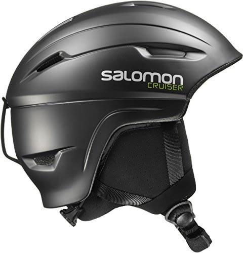 Casque de ski et snowboard unisexe Salomon, In-Mold-Shell, mousse interne EPS 4D, noir