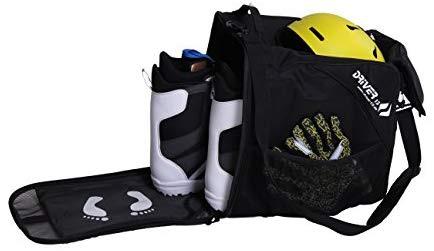 Sac à chaussures de ski Combi Driver13 avec compartiment pour casque (2019) Noir