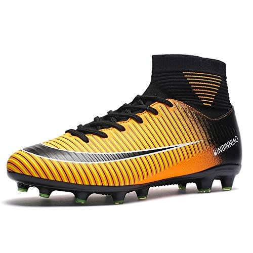 Chaussures de football hautes pour hommes Skwu. Ongles cassés. Chaussures d'entraînement sportif avec orteils cassés