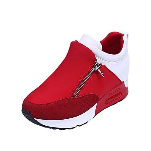 La meilleure vente! Baskets à plateforme, baskets LuckyGirls pour femmes Baskets à mailles respirantes à la mode Chaussures basses Mode Bottines compensées d'hiver Plateforme à talon 35-42