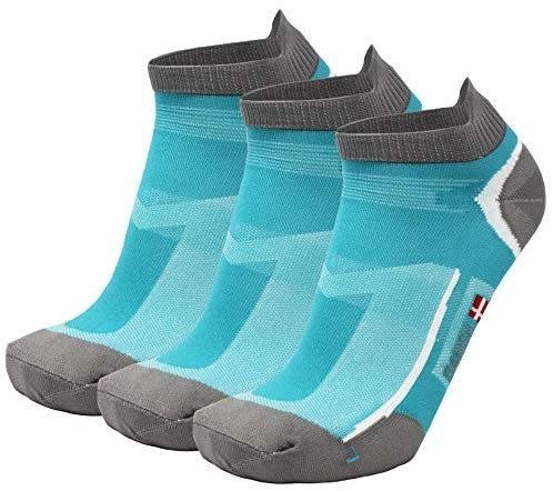 Chaussettes de Running Basses pour Homme et Femme, Lot de 3 ou 5 paires de Socquettes Low-Cut Respirantes et Anti-Ampoules pour la Course à Pied ou le Quotidien, Noires, Blanches, Grises, Bleues